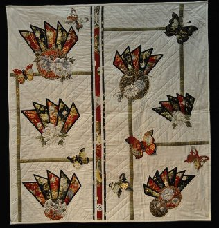 Dance of the Butterflies Quilt Pattern by Pauline's Quilters World
