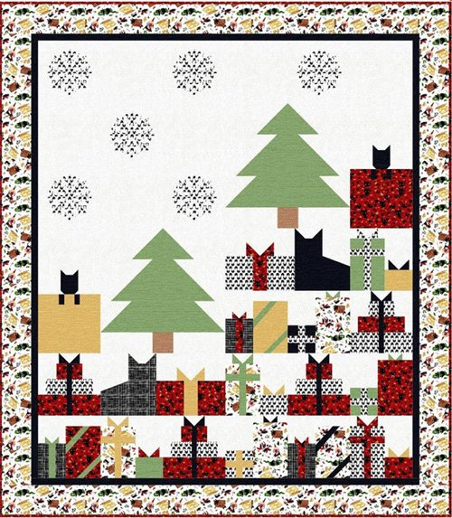Presently Quilt Pattern by The Fabric Addict