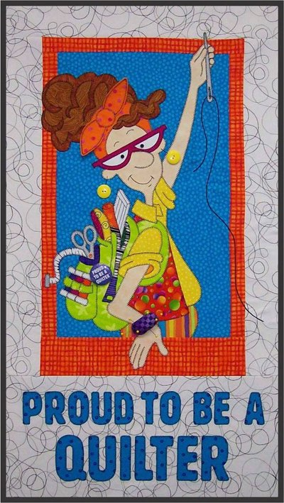 Proud To Be A Quilter EPattern by Amy Bradley Designs