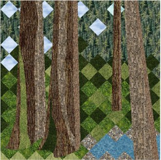 Old Growth Quilt Pattern by Patchworks Studio
