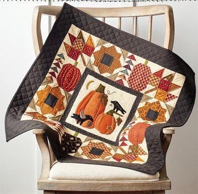 Pumpkin Patch Quilt Pattern by Buttermilk Basin