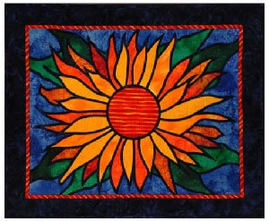 Miss Sunny Rae Wallhanging Pattern by Among Friends