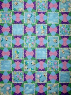 Twist on a Twister Set of 2 Quilt Patterns by The Quilted Button