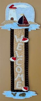 Stick Series - Seaside Wallhanging Pattern by Quilter's Clutter
