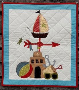 Summer Watch Wallhanging Pattern by Quilter's Clutter
