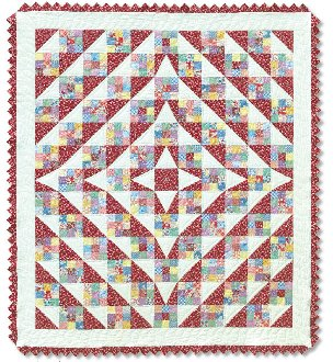 Patches of Life Quilt Pattern by Quilt in a Day