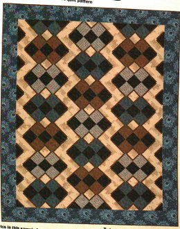 Abbey Plaid Quilt Pattern by Quilt Design NW