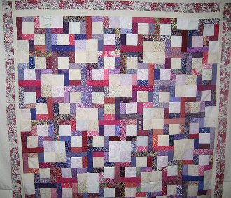 Prairie Lattice Quilt Pattern by Quilt Design NW