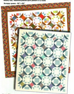 Sewing Stars Quilt Pattern by Quilt Design NW