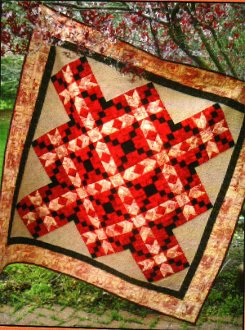 13 on Pointe Quilt Pattern by Quilted Garden Designs
