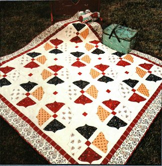 Ala Carte Picnic Quilt Pattern by Quilted Garden Designs