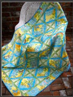 Belle Quilt Pattern by Quilted Garden Designs