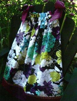 BowTie Dress Pattern by Quilted Garden Design