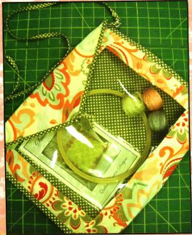 Project Pouch Bag Pattern by Quilted Garden Designs