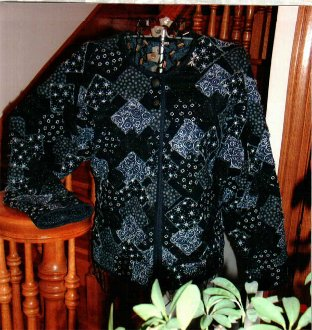 That's a Sweatshirt Jacket Pattern by Quilted Garden Design