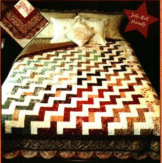 Zigs & Zags Quilt Pattern by Quilted Garden Designs