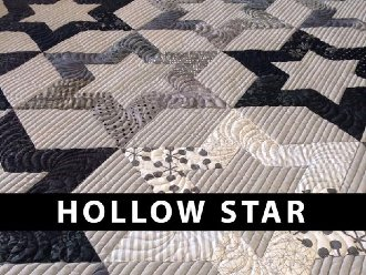 Hollow Star Quilt Pattern by The Quilted Life