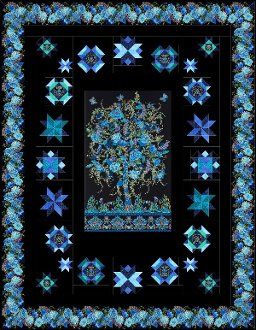 Starlight Twin Size Quilt Pattern by Quilt Moments