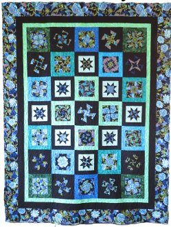 Twister Magic Quilt Pattern in 4 sizes by Quilt Moments