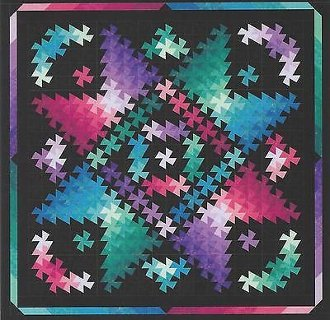 Twister Shimmer Quilt Pattern in 5 Sizes by Quilt Moments