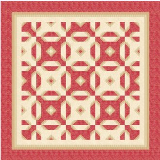 Wishbone Charm Quilt Pattern by Quilter's Treasure Chest