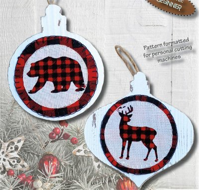 Quilted n Wood Ornament Kit by Patchabilities
