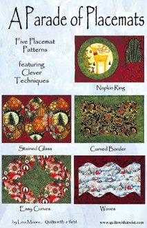Christmas Parade of Placemats Pattern by Quilts With A Twist