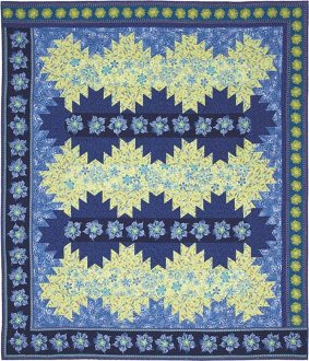 Delectable Lap Quilt and Table Runner Pattern by Quilts With A Twist