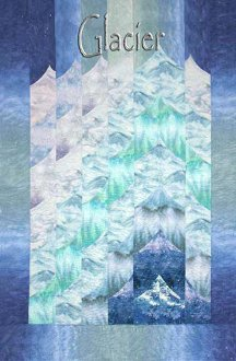 Glacier Quilt Pattern by Quilts With a Twist