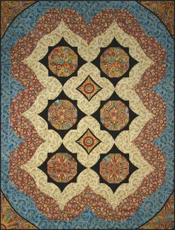 Kalinka Quilt Pattern in 2 Sizes by Quilts With a Twist