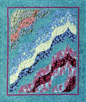 Meandering Meadows Quilt Pattern by Quilts With a Twist