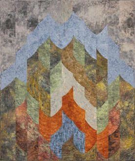 Mountains and Canyons Quilt Pattern by Quilts With A Twist