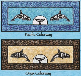 Orca Bedrunner Pattern by Quilts With A Twist