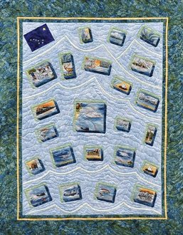 Postcards from Alaska Quilt Pattern by Quilts With A Twist