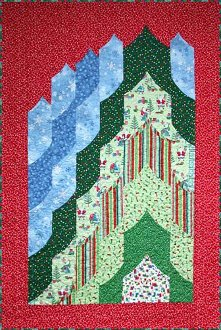 Santa's Magic Mountain Quilt Pattern by Quilts With A Twist