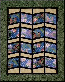 Shoji Quilt and Tablerunner Pattern by Quilts With A Twist