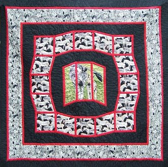 Zebra Quilt Pattern by Quilts With A Twist