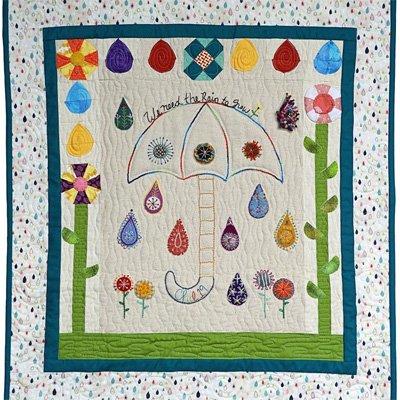 Rain on Me Quilt Epattern by Charisma Horton