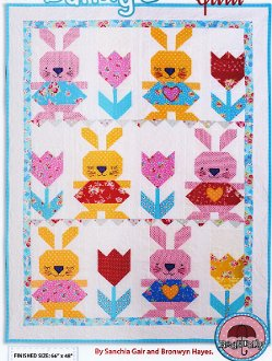 Bunny Love Quilt Pattern by Red Brolly
