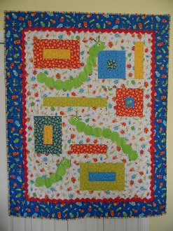 Garden Critters Quilt Pattern by Ribbon Candy Quilt Company