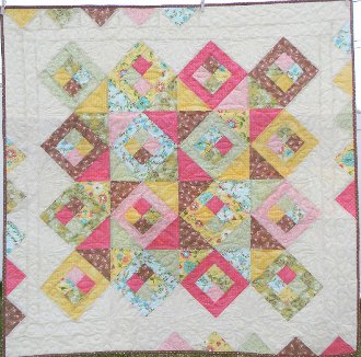 Matchmaker Wall Quilt/Table Topper Pattern by Ribbon Candy Quilt