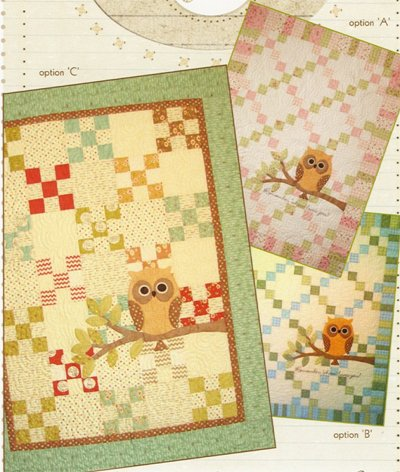 Remember 'Whooo' Loves You Quilt Pattern in 2 Sizes by Acorn Quilt and Gift Company