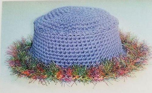 The Resort Hat #301 Crocheting Pattern by Nancy Queen Designs