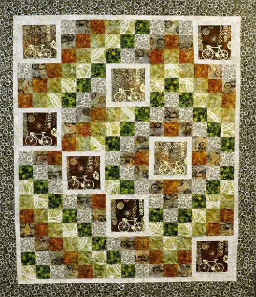 Ride On Quilt Pattern by Karen Gibbs of Designs by Lobo