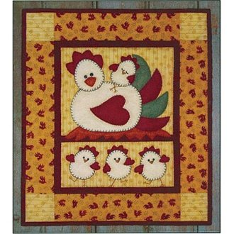 Chicken Coop Wall Quilt Pattern by Rachel's of Greenfield