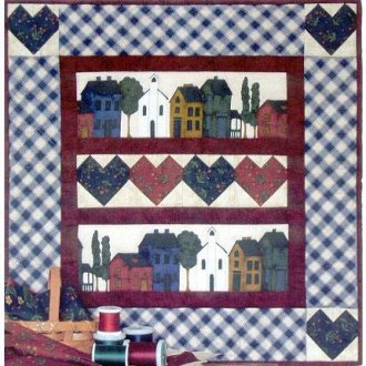 Hearts and Homes Wallhanging Kit by Rachel's of Greenfield