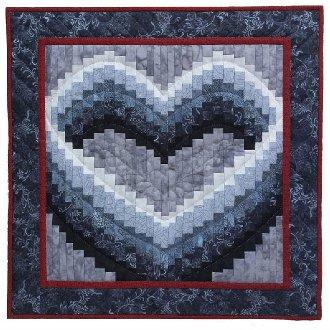 Open Heart Quilt Pattern by Rachel's of Greenfield