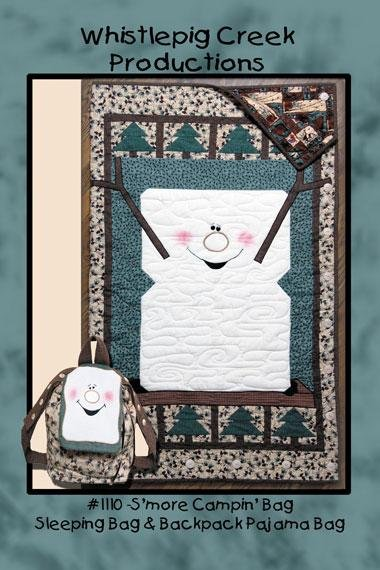 S'More Camping Bag and Backpack Pattern for Kids by Whistlepig Creek Productions