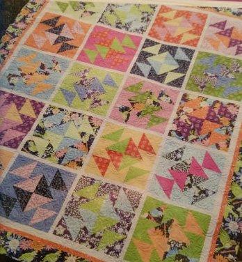 Salt Water Taffy Quilt Pattern by Amanda Murphy Designs