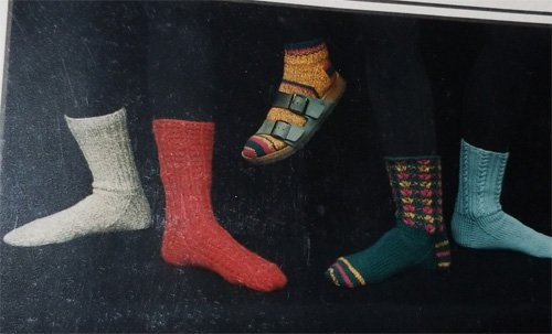 Sandal Socks from Sidna Farley